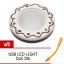 เครื่องอุ่น ชา กาแฟ นมสด ซุป เตาอุ่นไฟฟ้า แบบพกพา Donut USB Coffee Cup Warmer machine - Brown สีน้ำตาล