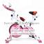 จักรยานออกกําลังกาย ระบบสายพาน Spin Bike แบบมีโช้ค รุ่น 880 สีชมพูหวาน น่ารักมากๆ สวยทนทาน รับประกัน 1 ปี thumbnail 1