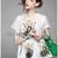 เสื้อทรงระบายตกแต่งด้วยดอกไม้ปักสุดหวาน thumbnail 8