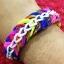 ยางถัก 100% ซิลิโคน Tie Die 3 Colors Loom Bands 600 เส้น ( T3C) thumbnail 3