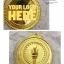 เหรียญรางวัล/กีฬา ML-5003 (คบเพลิง) thumbnail 3