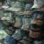 หมวกแก๊ปผ้ายีนส์ ประดับเพชร หมวกยีนส์ติดเพชร รับติดเพชร ตัวอักษร-ชื่อ (หมวกยีนส์เปล่า) thumbnail 1