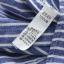 เสื้อเชิ้ตยีนส์อ่อนพิมพ์ลายทาง ปักแมวโผล่กระเป๋า สีลายฟ้า thumbnail 15