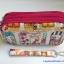 กระเป๋าถือ+สายข้อมือ Chalita wu สีขาว-ชมพู ลายแฟชั่น thumbnail 1