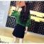 เสื้อเชิ้ตลูกไม้ผสมซีทรู สีเขียว thumbnail 4
