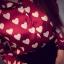 เสื้อเชิ้ต วิ๊งๆ ผ้าหางกระรอก สีแดงองุ่น(Red) thumbnail 2