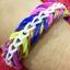 ยางถัก 100% ซิลิโคน Tie Die 3 Colors Loom Bands 600 เส้น ( T3C) thumbnail 4