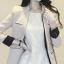 เสื้อสูทสไตล์เกาหลีแขนยาว สีครีม(Cream) thumbnail 3