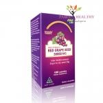 Biosis Red Grapeseed ไบออส์เรด เกรพซีด 38000 mg. ราคา 1,450 บาท ส่งฟรี