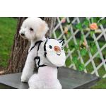 กระเป๋าเป้สุนัข กระเป๋าเป้แมว ลายหมูขาว (S)