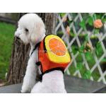 กระเป๋าเป้สุนัข กระเป๋าเป้แมว ลายส้ม (L)