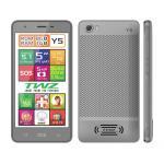 TWZ Y5 4 core จอใหญ่ 5 นิ้ว IPS 2 ซิม ระบบ 3G Android 5.1 บางเบา สวยหรู สีเทา ส่งฟรี