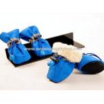 รองเท้าสุนัข รองเท้าแมว สีน้ำเงิน (เบอร์ 1)