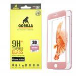 กระจกนิรภัยระดับฟรีเมี่ยม Gorilla Tempered Glass - iPhone 6 Plus / 6S Plus (สีโรสโกล)