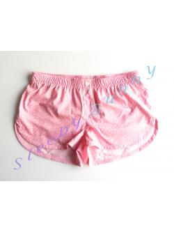ขายแล้วค่ะ Promotion bx18 บ็อกเซอร์หญิงสีชมพูลายดอกเล็ก ๆ Size L --> Pajamazz