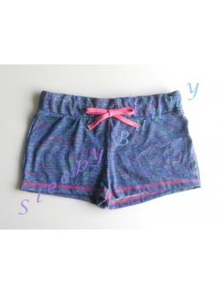 bx33 กางเกงขาสั้นโทนสีน้ำเงิน Size XS, S --> no boundaries