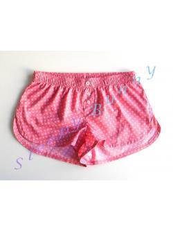 ขายแล้วค่ะ Promotion bx28 บ๊อกเซอร์หญิง สีแดงอมชมพูลายดอกเล็ก ๆ Size M --> Pajamazz
