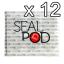 สติกเกอร์ปิดแคปซูล 12 ชุด (12 Sticker Sets) thumbnail 1