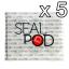 สติกเกอร์ปิดแคปซูล 5 ชุด (5 Sticker Sets) thumbnail 1