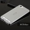 เคส Vivo X5MAX l Bumper กรอบกันกระแทก พร้อมฝาหลัง อะคริลิค สีเงิน