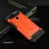 เคส Huawei P9 เคสบั๊มเปอร์ (เสริมขอบกันกระแทก) สีส้ม Hybrid Protection