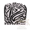 BEAUTY SECRET D Professional Cosmetic Case BX010 กระเป๋าใส่เครื่องสำอางค์ (สีขาว/ดำ)
