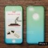 เคส iPhone 5 / iPhone 5s / iPhone SE เคสแข็งความยืดหยุ่นสูง (ด้านหน้า/ด้านหลัง) สีสันสดใส (สีเขียว/สีฟ้า)