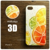 เคส iPhone 4 / 4s เคสแข็งพิมพ์ลายนูน สามมิติ 3D แบบ 10