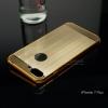 เคสสำหรับ iPhone 7 Plus เคสฝาหลัง + Bumper ขอบกันกระแทก (เสริมขอบกันกระแทก) สีทอง (แบบ Luxury)