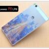 เคส Huawei P8 Lite เคสนิ่ม SILICONE ใสพิมพ์ลายแบบที่ 4
