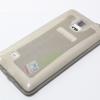 เคส Galaxy NOTE 4 ซิลิโคน TPU นิ่มมือ สวยหรู สีเทาดำ ส่งฟรี