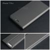 เคส iPhone 7 Plus และ 8 Plus เคสฝาพับเกรดพรีเมี่ยม (เย็บขอบ) พับเป็นขาตั้งได้ สีเทา