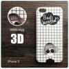 เคส iPhone 5 / 5S / SE เคสนิ่ม สกรีนลาย 3D ลายที่ 3 Bad Weather