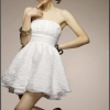 dress ชุดเดรสแฟชั่นใส่ออกงาน สีขาว ผ้า ice cotton น่ารัก ใส่ไปงานแต่งงาน สวยๆ Asia Street Fashion
