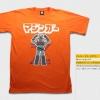 T-Shirt เสื้อยืดกันดั้ม Mazinger Z มาซินเกอร์ Z หุ่นกายสิทธิ์ (Zaku II) สุดเท่ห์ สีส้ม จากร้าน GUNZU !!โปรโมชั่น