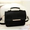 กระเป๋า Axixi กระเป๋าสไตล์คลาสสิคเรียบหรู สีดำโมเดิร์น ร้าน Asia Street Fashion