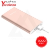 Powerbank Yoobao PL8 8000 mAh - สี Rose Gold รับประกัน 1 ปี