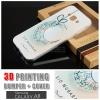 เคส Samsung Galaxy A8 Bumper + Cover พิมพ์นูน สามมิติ (แบบสไลด์) ลาย G
