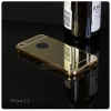 เคส iPhone 5 / 5S l เคสฝาหลัง + Bumper (แบบเงา) ขอบกันกระแทก สีทอง