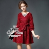 Scarlett lace dress