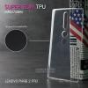 เคส Lenovo PHAB 2 PRO เคสนิ่ม Super Slim TPU บางพิเศษ พร้อมจุด Pixel ขนาดเล็กด้านในเคสป้องกันเคสติดกับตัวเครื่อง สีใส