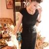 dress ชุดเดรสแฟชั่นเกาหลี ใส่เที่ยว ทำงาน ผ้า Cotton กระดุมหน้า พร้อมสายผูกเอว สีดำ น่ารักๆ Asia Street Fashion (พรีออเดอร์)