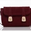 กระเป๋า Axixi กระเป๋าสะพายข้างสไตล์ญี่ปุ่น และกระเป๋าสะพายข้างสไตล์เกาหลี มี 2 สีให้เลือก สีเบอร์กันดีออกโทนแดง(ดูตามรูป) สีไพลิน