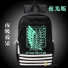 Preorder กระเป๋าเป้สะพายหลัง Attack on titan ver 3 เรืองแสง