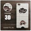 เคส Huawei P8 Lite l เคสแข็งพิมพ์ลาย 3D แบบ 20 Bad Weather