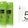 IIOZO ฟิมล์กระจกกันรอยนิรภัยสำหรับ iPhone 5 / 5S