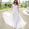 JOY Bohemia chiffon dress beach(White) - Intl