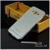 เคส Samsung Galaxy A8 Bumper ขอบกันกระแทกพร้อมฝาหลัง สีเทา