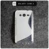 เคส Samsung Galaxy Core 2 Duos | เคส TPU สี Two tone สีขาว/ใส