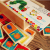 The Very Hungry Caterpillar Wooden Domino Set